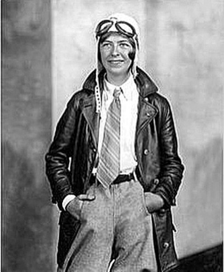 EHb69ukXUAA4DeX - Today in HERstory, Elinor Smith was born She was the youngest pilot of her time getting her license at the age of 16 and she is still the only person to ever fly under all four of New York Citys East River Bridges This earned her the title of the Flying Flapper of Freeport