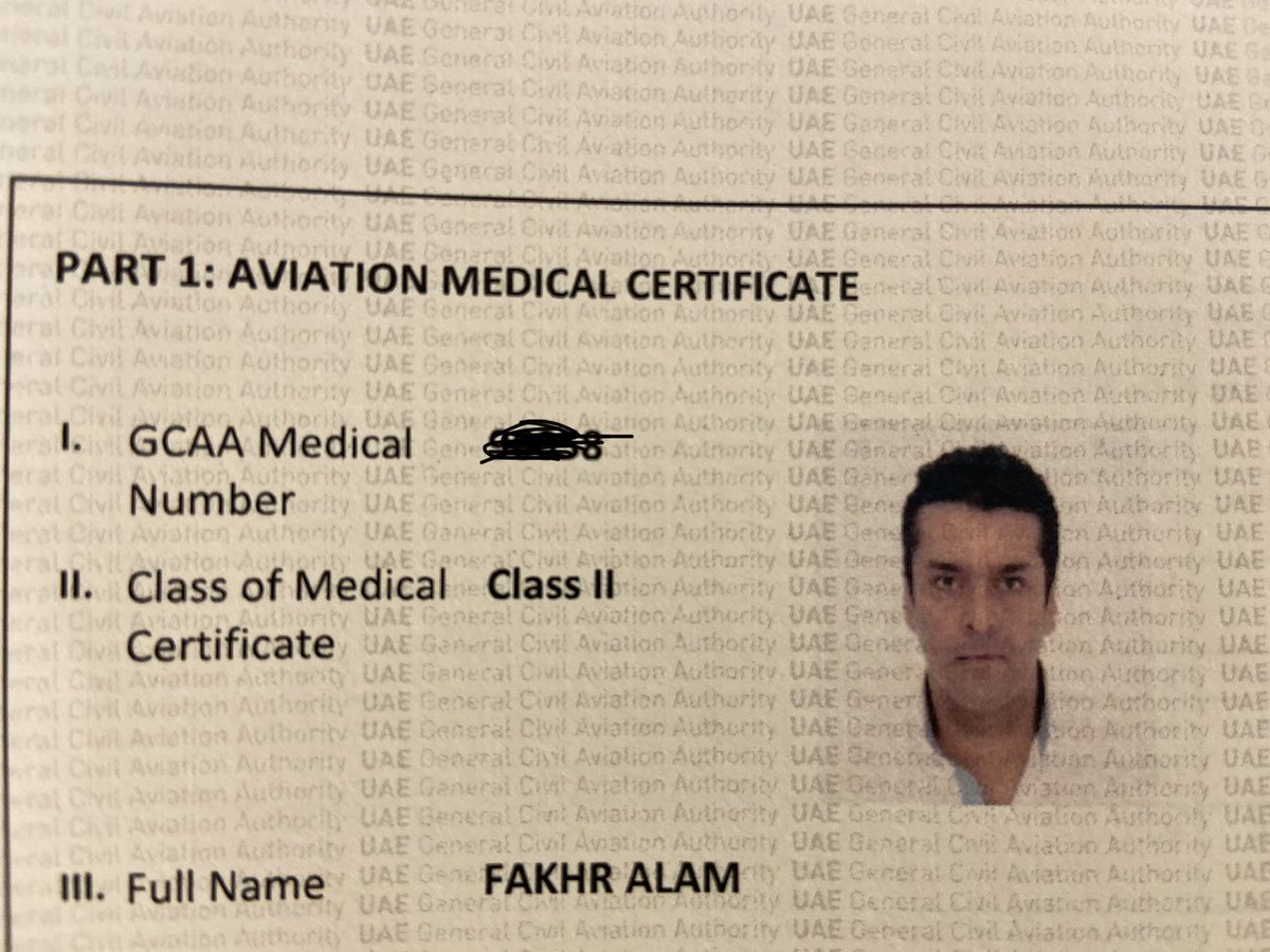 EHpklvnX4AEpbwl - Finally today I started my journey to convert my American F.A.A pilots license to a UAE license. The doctor found nothing wrong with me, which is a surprise. But I am mighty glad I will be flying In the UAE skies real soon....