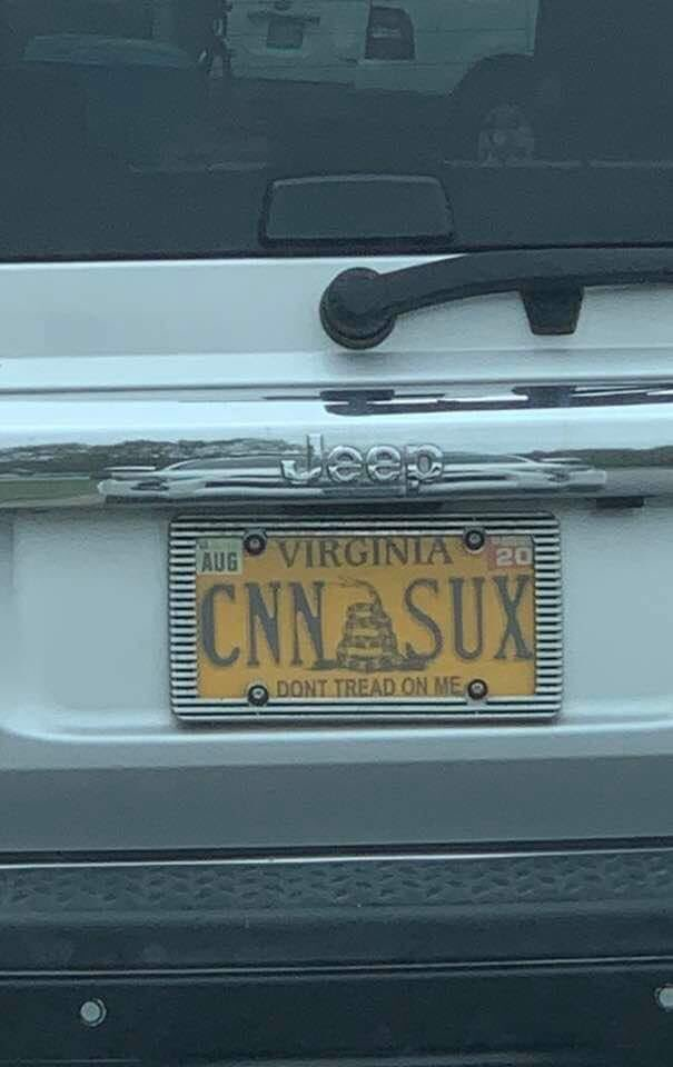 EHvXn2bWoAEvyCf - Best license plate ever