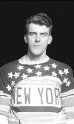 EIFS tfX0AEaYmI - The NY Americans are missing two players from training camp. George Patterson, recently acquired from the Habs, is held up by fresh dental work. Meanwhile, Punch Broadbents plans are unclear. Punch got his pilots license this summer.