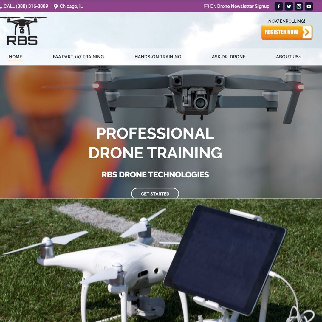EIU5mw WkAAkg6O - Train to get your FAA Part 107 commercial drone pilots license if you are near Chicago or Gary, we are the number one choice with 100 pass rate for our graduates on their first try.