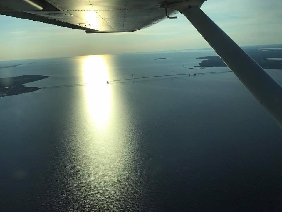 EJ0bHBmW4AAl H - Trooper Mercer has a private pilots license and during his time off he enjoys flying over northern Michigan. When Trooper Mercer is at work he flies the Aeryon SkyRanger Unmanned Aircraft System. Learn more about MSP aviation at