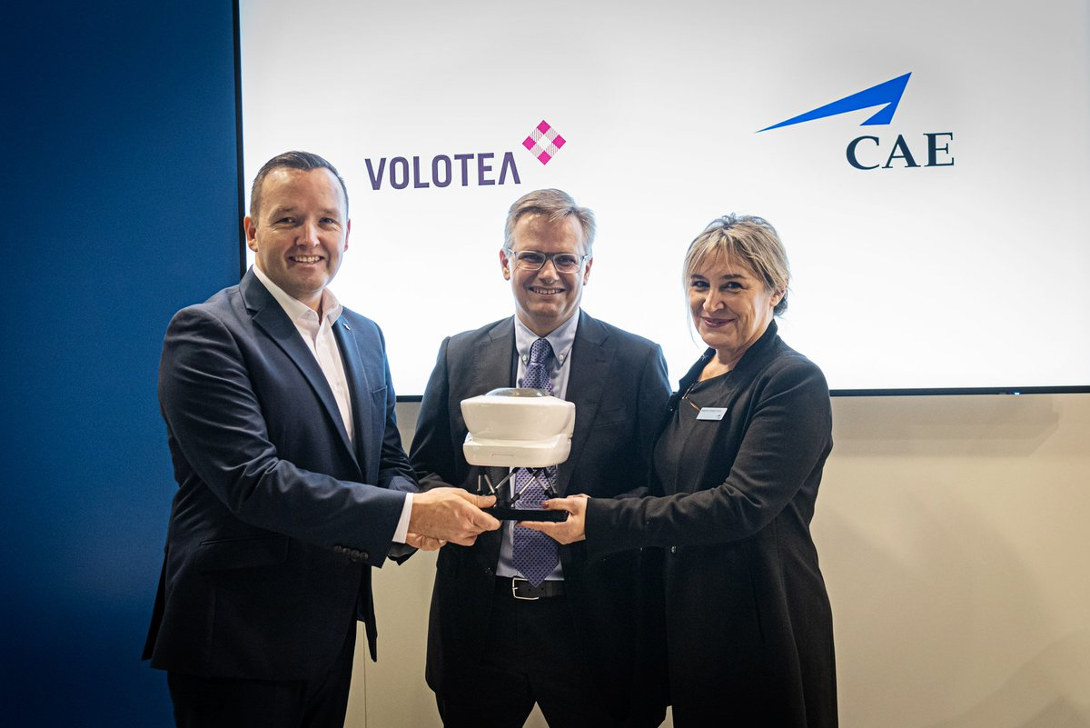 EJa2eBxXkAAcmtX 1 - CAE opens a new Multi-Crew Pilot License MPL cadet pilot training program in partnership with Volotea to train more than 100 cadets at CAEmadrid and CAEbarcelonaApplications are now open at