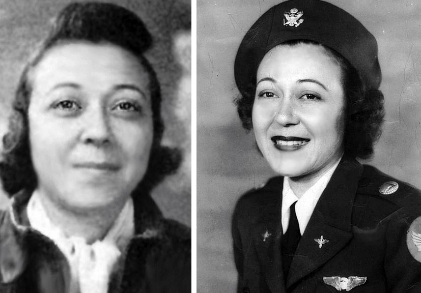 EJbSKJMUYAA9Pv6 - WASP Evelyn Greenblatt Howren 43-W-1Pilot license Nov 1941. ONE YEAR LATER joined WASP wover 300 hrs in air.28 Aug 1917 9 Feb 1998RIP
