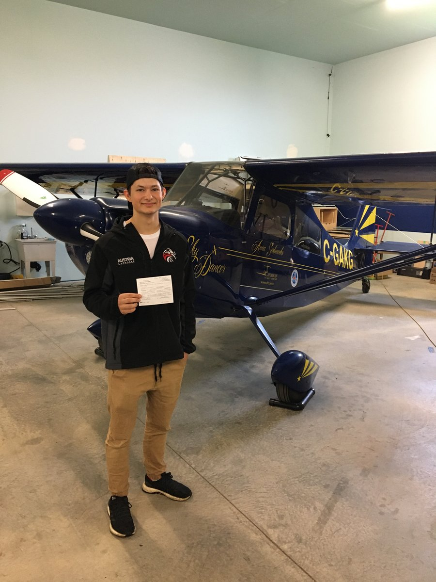 EJhQMo7XsAAJbFP - Congratulations Mason on getting your Private Pilot License and all the best for the next step....pilotlife pilot piloteyes aviation pilotviewpilotlicense flighttest rating flightinstructor kamloops boundarybay airport flightschool pilotschool