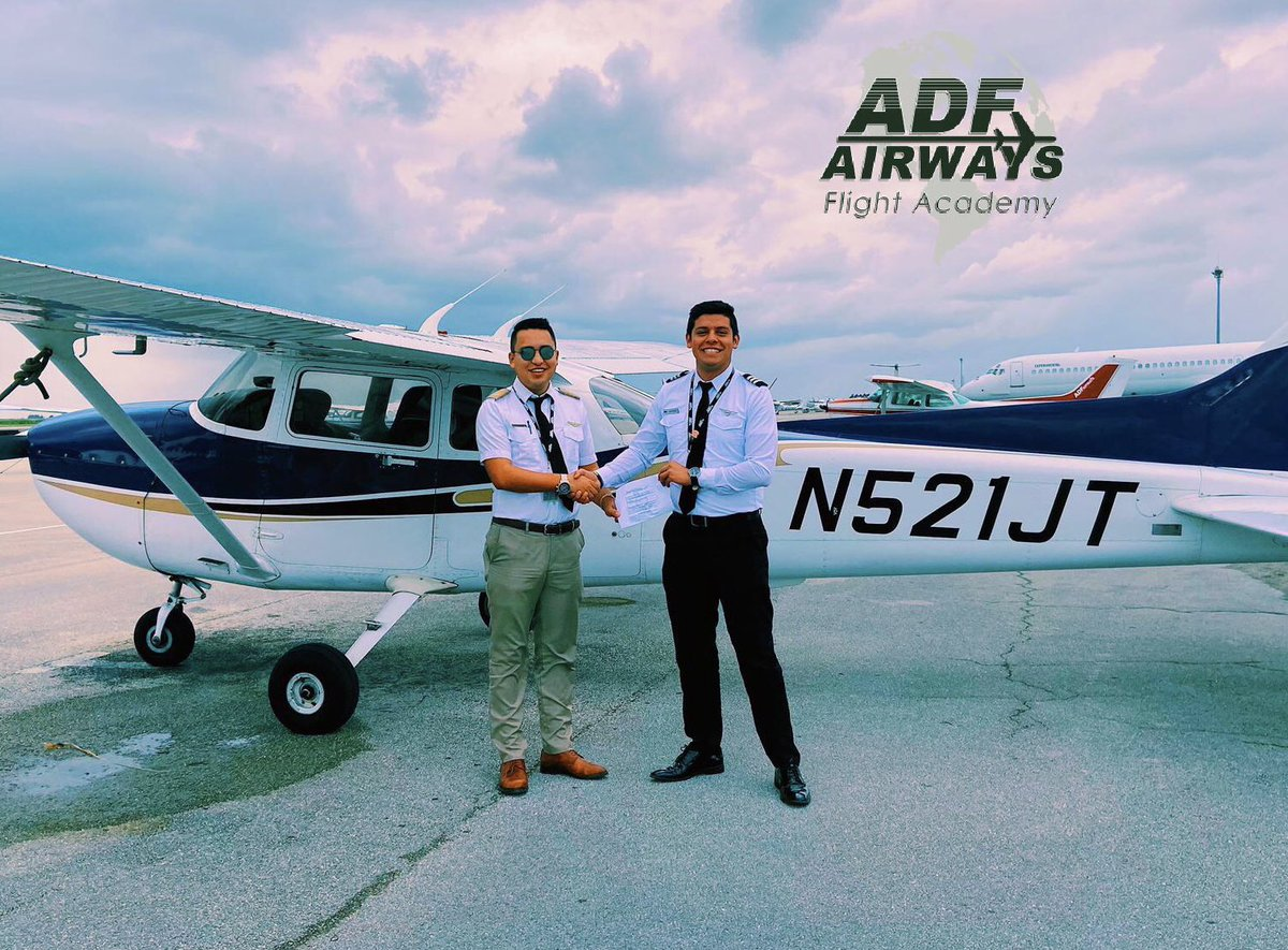 EKORAPgW4AElpUv - Oscar Alejandro Angarita New instrument pilot excellent and very passionate aviador . He obtained his license in a month and 2 weeks of training. Congratulations adfflightschool aviation flighttraining pilot pilottraining flight miami