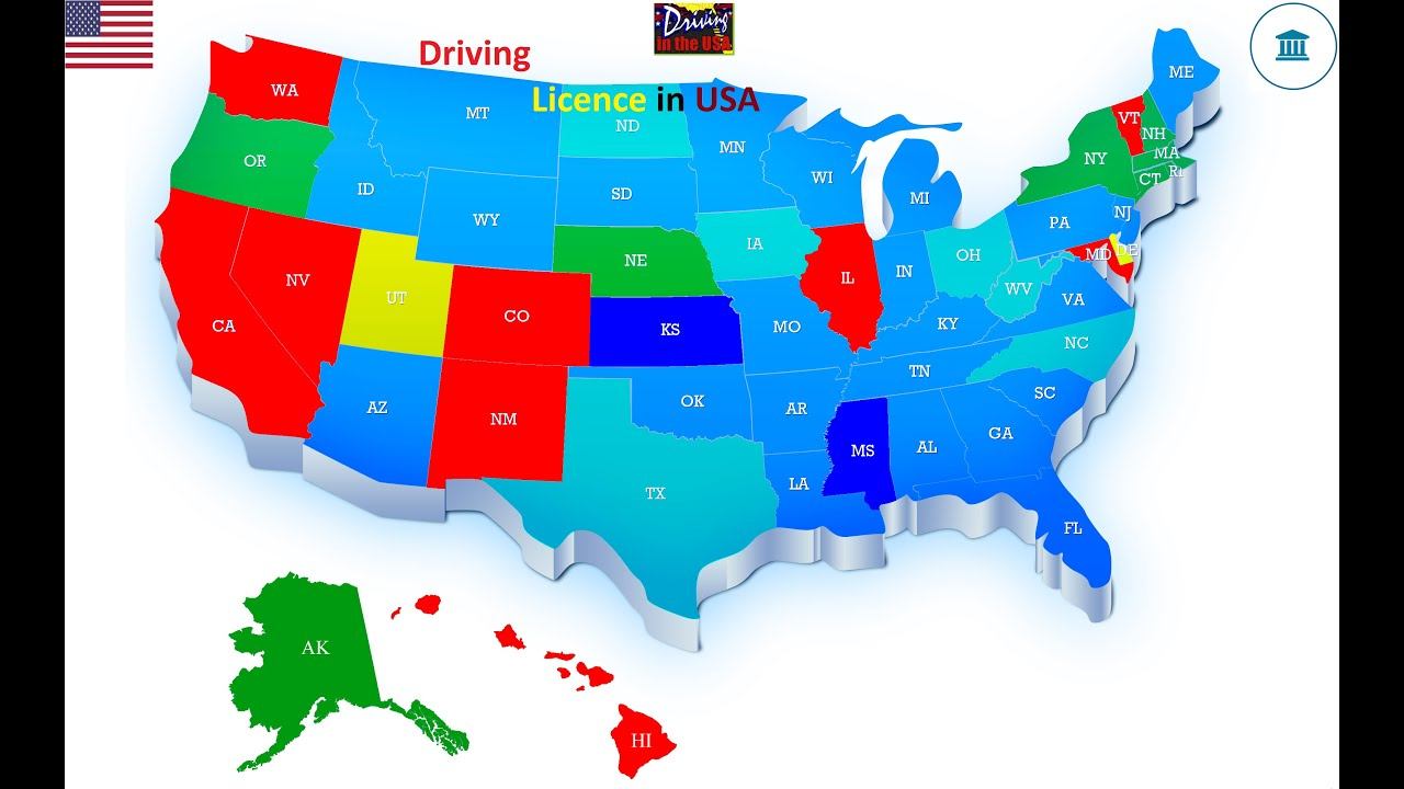 maxresdefault 44 - USA - Driving License 2019 Best and easy steps to get you39re License