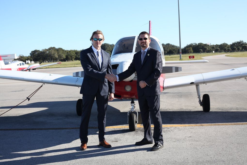 EK8sTkOX0AUJDOG - Earlier this week Florida Prep and Florida Tech signed a new Flight Agreement Contract which will open a new Dual Enrollment Track between both schools. Read more about how you can earn your Private Pilots License while enrolled at Florida Prep here