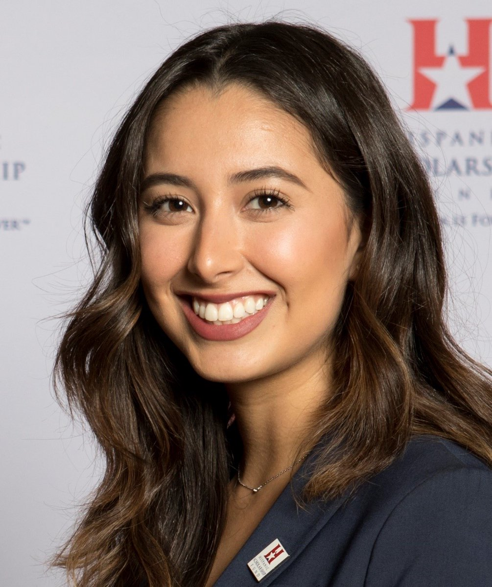 EKvyZGXWwAAnqoo 1 - Meet Natalie Sahagun, an HSF Alum and 2018 Female Scholar of the Year. Currently, she is a Flight Test Engineer at Lockheed Martin. Prior to this role, she completed her first flight to obtain her pilots license.VIDEO GivingTuesday HSFstories