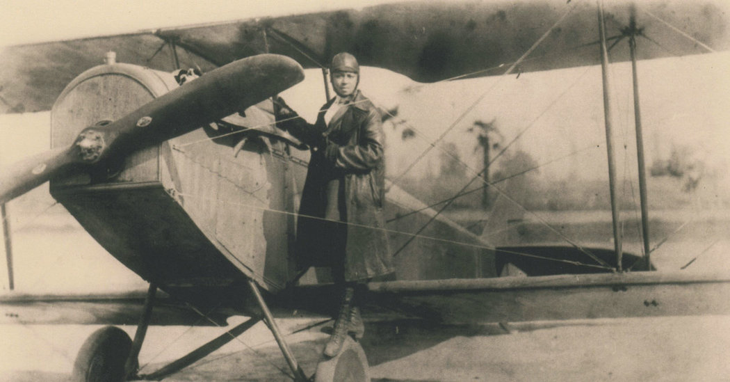 EL7Q1gGWkAA95gY - Bessie Coleman was the first African American woman to earn a pilots license in 1923. In their series Overlooked, the New York Times reflects on her inspiring story.