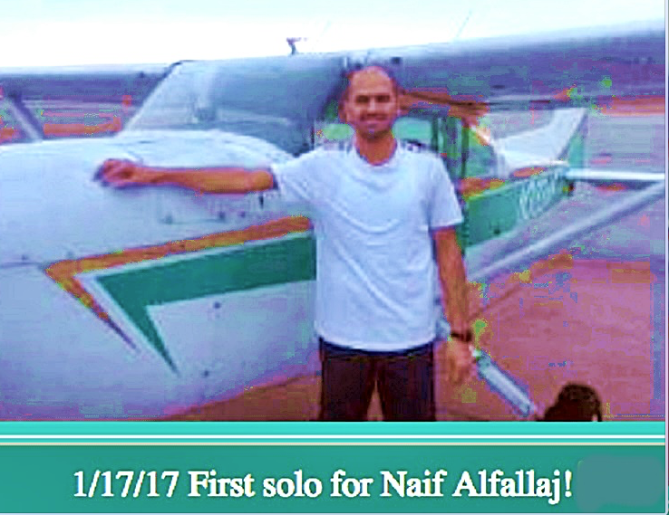 ELOpTOxXUAAGL6c - POST 911How easy is it for Saudi Muslim nationals who have trained in Islamic terror camps overseas to obtain a pilots license in theUS