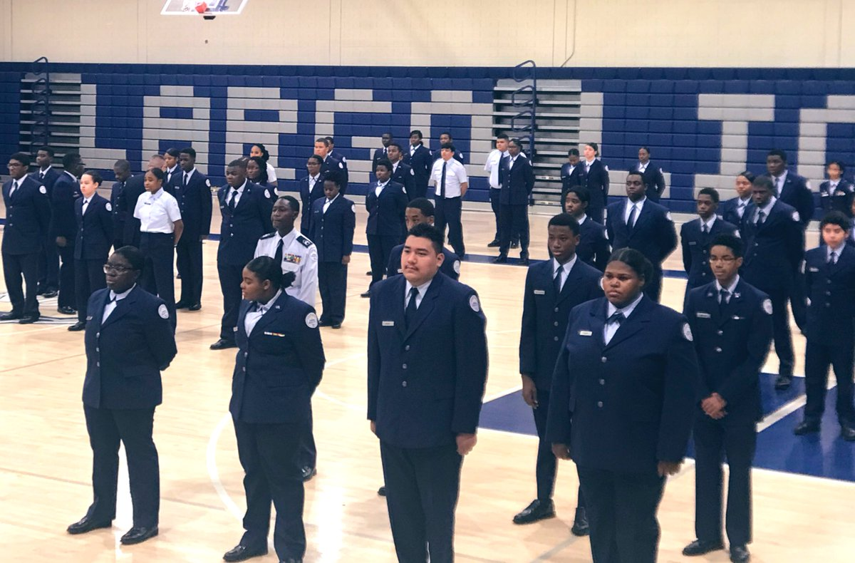 ELd7bV1W4AAOfgv - _largo AFJROTC inspection today.... Great feedback on our program. Did you know that you could earn your private pilot license through this program Its never too late to start