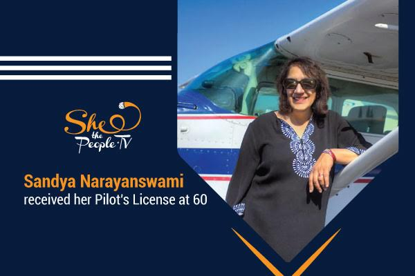 EMxMK8XUwAA h1c - Meet Sandya Narayanswami, who received her pilots license at 60. She speaks on battling criticism to pursue her dreams and how flying helped her to cast self-doubt aside. FridayMotivation