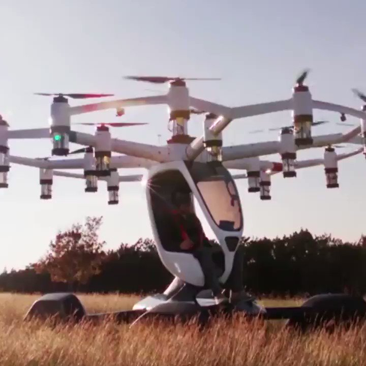 OsLMbe piXzutg7y - You dont need a pilots license to fly this aircraft.LIFT Aircraft wants everyone to fly their Hexa aircraft about the price of a skydive.gigadgets drones aviation tech Iamdarshan _ _h_sheth