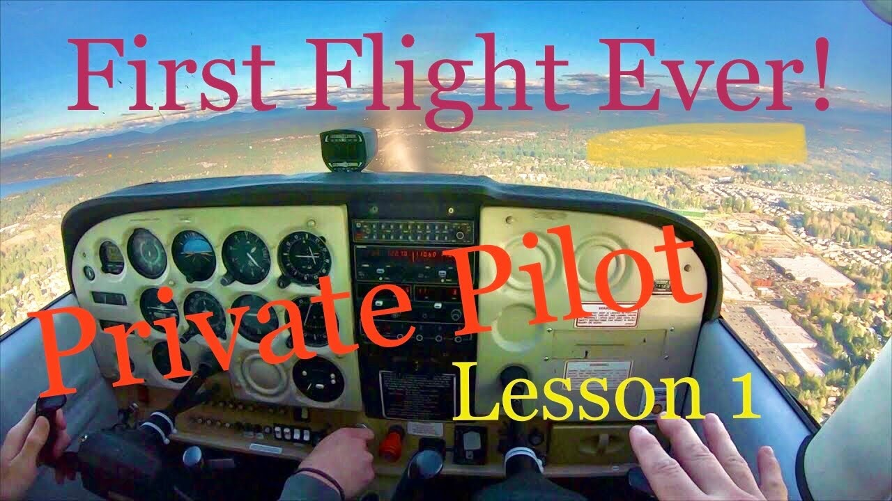 maxresdefault 17 - First Flight Ever Private Pilot Lesson One