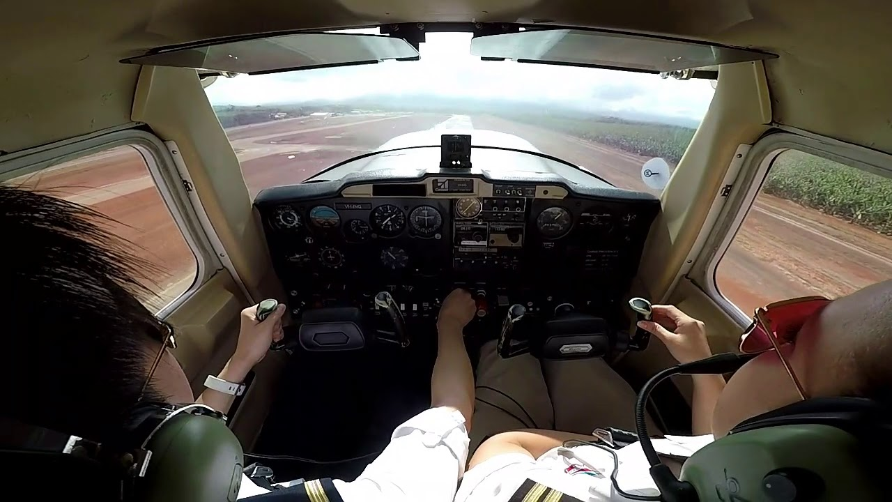 maxresdefault 9 - Private Pilot License Training - Take off and Landing Cessna 152