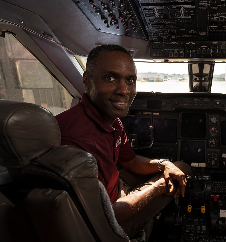 D icAp8X4AE49eQ - For Thomas Washington 92, SM 94, who had his private pilots license before his drivers license, flight test pilot is the perfect job. See what he does at