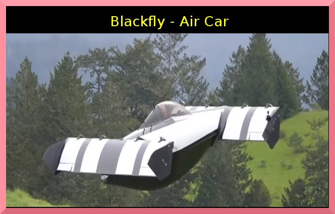 Dve0lK2UUAEalAP - BlackFly - Anyone can Drive this personal VTOL without Pilot License Blackfly FlyingCar Drone