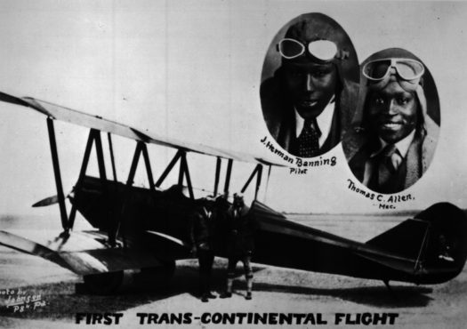 ENM6EHSU8AAZo21 - James Banning First Black Male Aviator to Receive a Pilots License