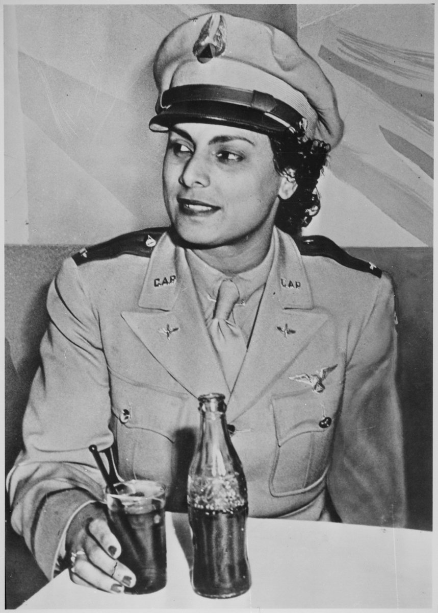 EO5COHJX4AAGLFS - OTD in 1906, aviator WillaBeatriceBrown was born in Glasgow, KY. Brown earned her pilots license in 1937, making her the 1st African American woman licensed to fly in the United States. Brown co-founded the National Airmens Association of America.History BlackEagle