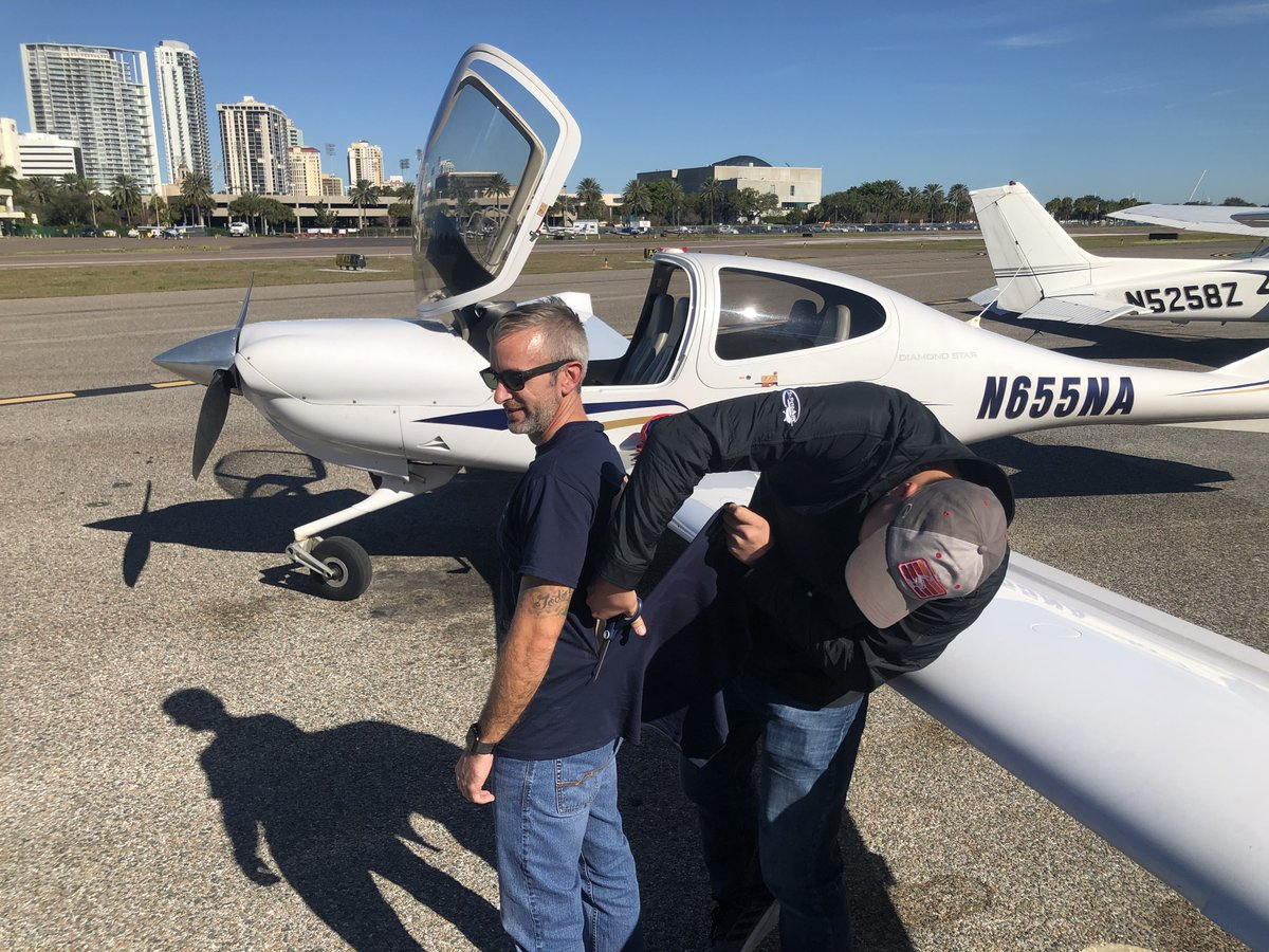 EOBAiblW4AkEae8 - Congrats, Mike Palmer, on your first solo mission. We are looking forward to seeing you get your Private Pilot License.