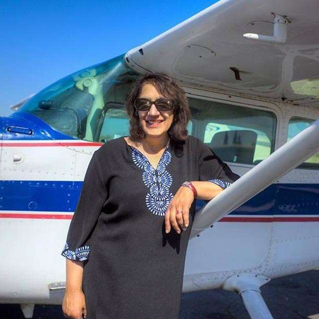 EOedbAWUwAAL3v5 1 - Age is nothing but merely a number amp Sandya Narayanswami, from Mumbai has proved it, who has received her pilots license at the age of 60.Can all the quitters learn something from herMore power to you sheroeFridayMotivation