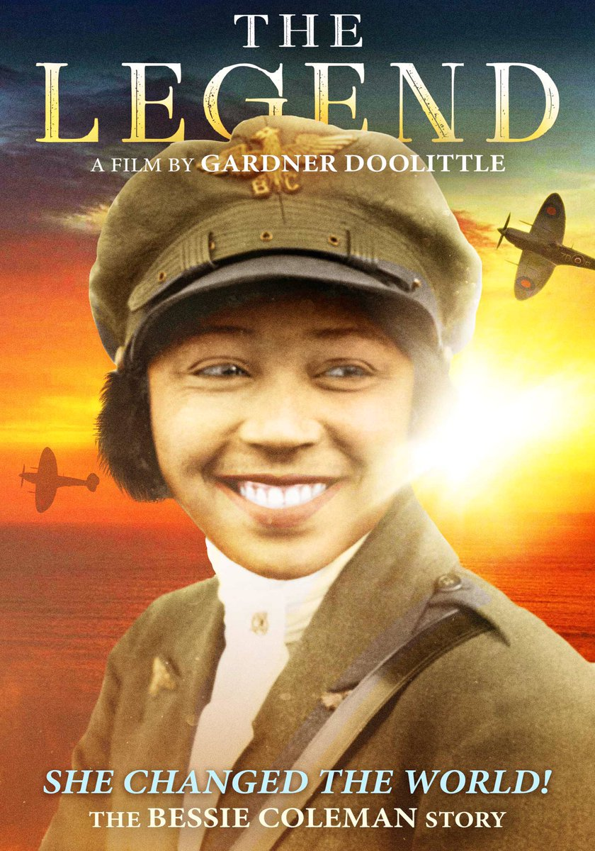 EPM8tF3XkAAAKyL - Happy bday aviator Bessie Coleman, b.1892, first woman of African-American descent and first of Native-American descent to hold pilot license. I refused to take no for an answer.Let us push for justice no matter the obstacles.