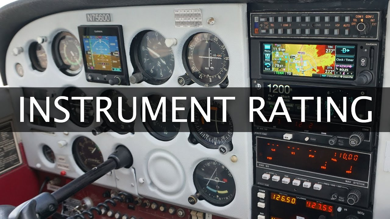 maxresdefault 6 - What Does It Take To Get Your Instrument Rating FAA Requirements
